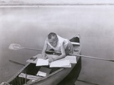 Charles Steinmetz German-American Mathematician Worked in His Canoe  Ca 1900