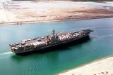 John F Kennedy in the Suez Canal Returning from the First Gulf War  1991