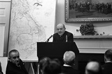 Dean Rusk Briefs US Governors on the Vietnam War  with LBJ at Left March 1967
