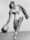Bill Russell in His Boston Celtics Uniform in 1958