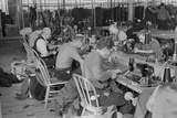 Garment Factory Operators Work at a New Deal Subsistence Homesteads in 1936