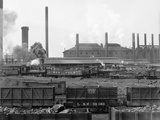 Tennessee Coal  Iron & Railroad Company's Furnaces at Ensley  Alabama  1906