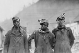 Three Coal Miners of the Lorain Coal & Dock Company  Lorado  West Virginia  1918