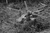 Unmarked US Air Force Helicopter Provided Covert Transport  Vietnam  June 1968