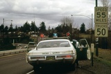 Oregon State Police Stops a Driver Who Exceeded 55 Mph National Speed Limit  1973