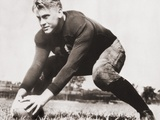 Future President Gerald Ford at Football Practice at University of Michigan  Ca 1933
