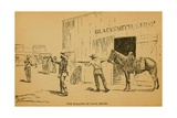 John Wesley Hardin Killing Dewitt County Sheriff  Jack Helms  on August 1  1873