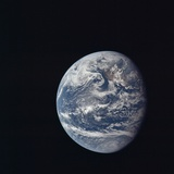 Apollo 11 Earth View from Space  July 17  1969