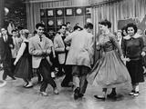 Teens Dancing on Dick Clark's American Bandstand in 1961