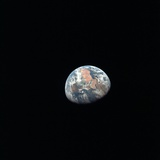 Apollo 11 Earth View from Space from More Than 100 000 Miles  July 17  1969