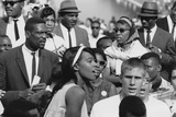 Basketball Player  Bill Russell at the March on Washington  Aug 28  1963