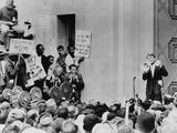 Attorney General Robert Kennedy Addresses Civil Rights Demonstrators  June 1963