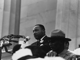 1963 March on Washington Martin Luther King Delivering His 'I Have a Dream Speech' Aug 28  1963