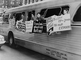 Washington Freedom Riders Committee  Protest Segregation in NYC  May 1961