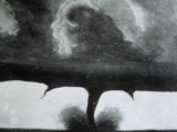 Oldest known Photograph of a Tornado Taken in South Dakota on August 28  1884