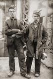 Two Miners Leaving Entrance of Coal Mine Near Scranton  Pennsylvania April 1912