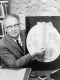 Gerard Kuiper Identified Landing Sites on Moon for NASA's Apollo Missions  1960s