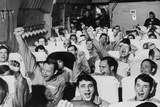 Released American Pows Cheer as their Aircraft Takes Off from Hanoi  Mar 29  1973