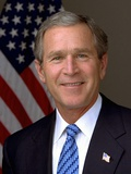 Official Photograph Portrait of US President George W Bush 2003