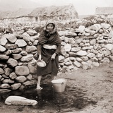 Woman of Keel  an Impoverished Village of Achill Island  Western Ireland  Ca 1903