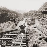Panama Canal Construction at the Culebra Cut  Panama Canal in 1907