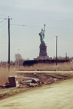 New Jersey Dump with Statue of Liberty in the Distance  1970s