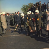 US Marshals Remove an Anti-Vietnam War Protester at the Pentagon  Oct  22  1967