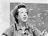Maria Goeppert-Mayer Shared 1963 Nobel Prize for Physics with J Hans D Jensen