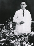 Jonas E Salk  American Developer of the First Polio Vaccine  Ca 1955
