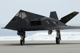 F-117 Nighthawk Stealth Fighter at its Retirement Ceremony  Ohio  2009