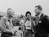 King Bhumibol and Queen Sirikit of Thailand in South Vietnam  1960s