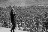 Ann Margret Entertains Thousands of Troops in Danang  Vietnam  Winter 1968-69