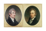 William Clark and Meriwether Lewis  by Charles Wilson Peale