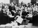 Atty  Gen Robert Kennedy Testifying on the Civil Rights Bill in June 1963