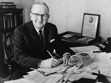 Norman Vincent Peale  US Cleric  Opposed Because JFK 'Our Culture Is at Stake'