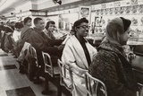 African Americans Sit in at a Lunch Counter in Nashville  Tennessee in 1960