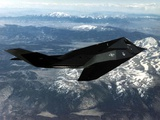 F-117A Nighthawk First Operational Aircraft Designed with Stealth Technology  1983