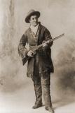 Calamity Jane in a Studio Portrait  Ca 1885