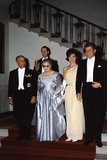 Tunisian Pres Bourguiba  His Wife  Jacqueline and Pres Kennedy  May 4  1961