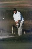 President George Bush Plays Golf at Kennebunkport Maine  Sept 3  1989