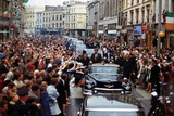 President Kennedy Is Cheered by the Citizens of Dublin  Ireland  Aug 28  1963