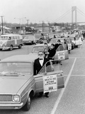 Protesters of 'Operation Breath Free' Wear Surgical Masks in Staten Island  1967