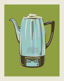 Coffee Pot - Green