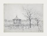 Bandstand  Peel Park  Salford  1924