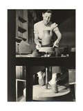 Marguerite Wildenhain at Work  circa 1940; Archive of American Art