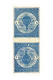 5-Cent Buffalo Balloon Stamps
