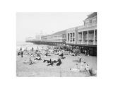 Steel Pier  Atlantic City  NJ  c 1904
