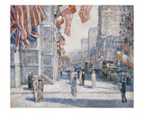 Early Morning on the Avenue in May 1917