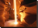 Sun Ray In Antelope Canyon