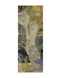 Water Serpents I, ca. 1904-1907 Giclée par Gustav Klimt